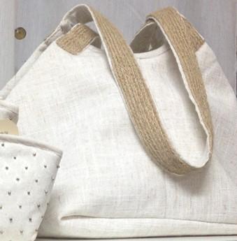 Noura Mossallem off-white Safeya shoulder bag