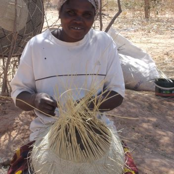 Bulawayo garlic gourd basket