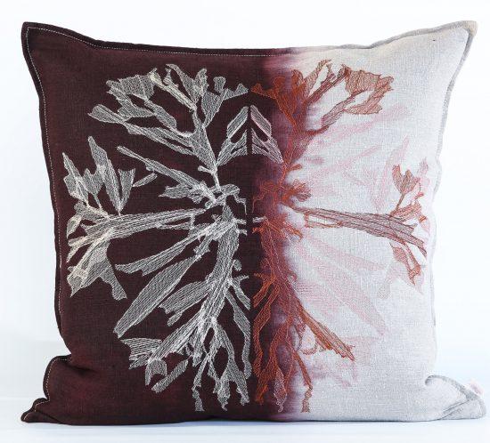 Nitiphyllum Cushion - Embroidered