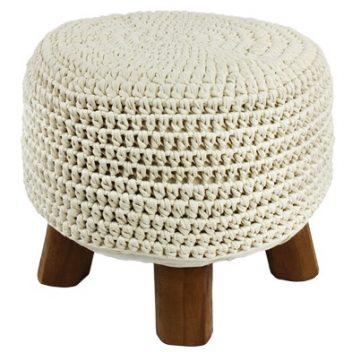 Handmade - Round Footstool