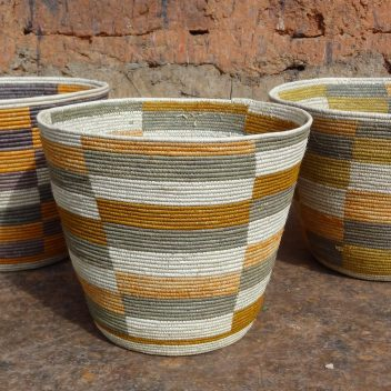Conical Bwindi Baskets