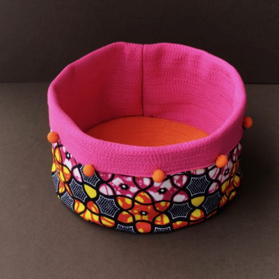 Moyo Kitale fabric basket