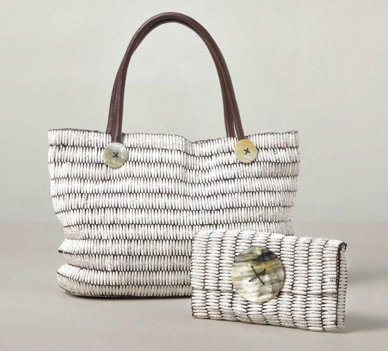 Sanaa Artwear Handbag and Clutch