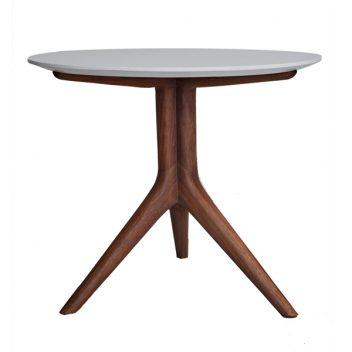 UMTHI BISTRO TABLE WITH STONE TOP