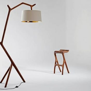Meyer von Wielligh- Umthi Hanging lamp and Umthi barstool