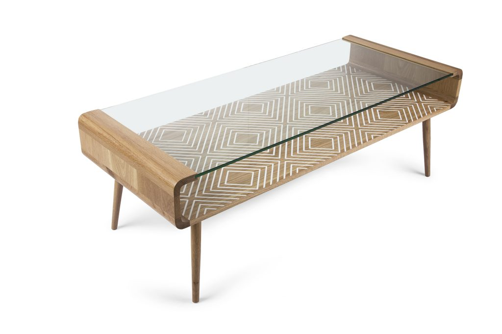 Saks Corner - Umuntu glass coffee table