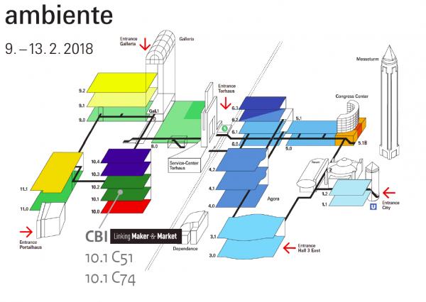 Floorplan Ambiente 2018
