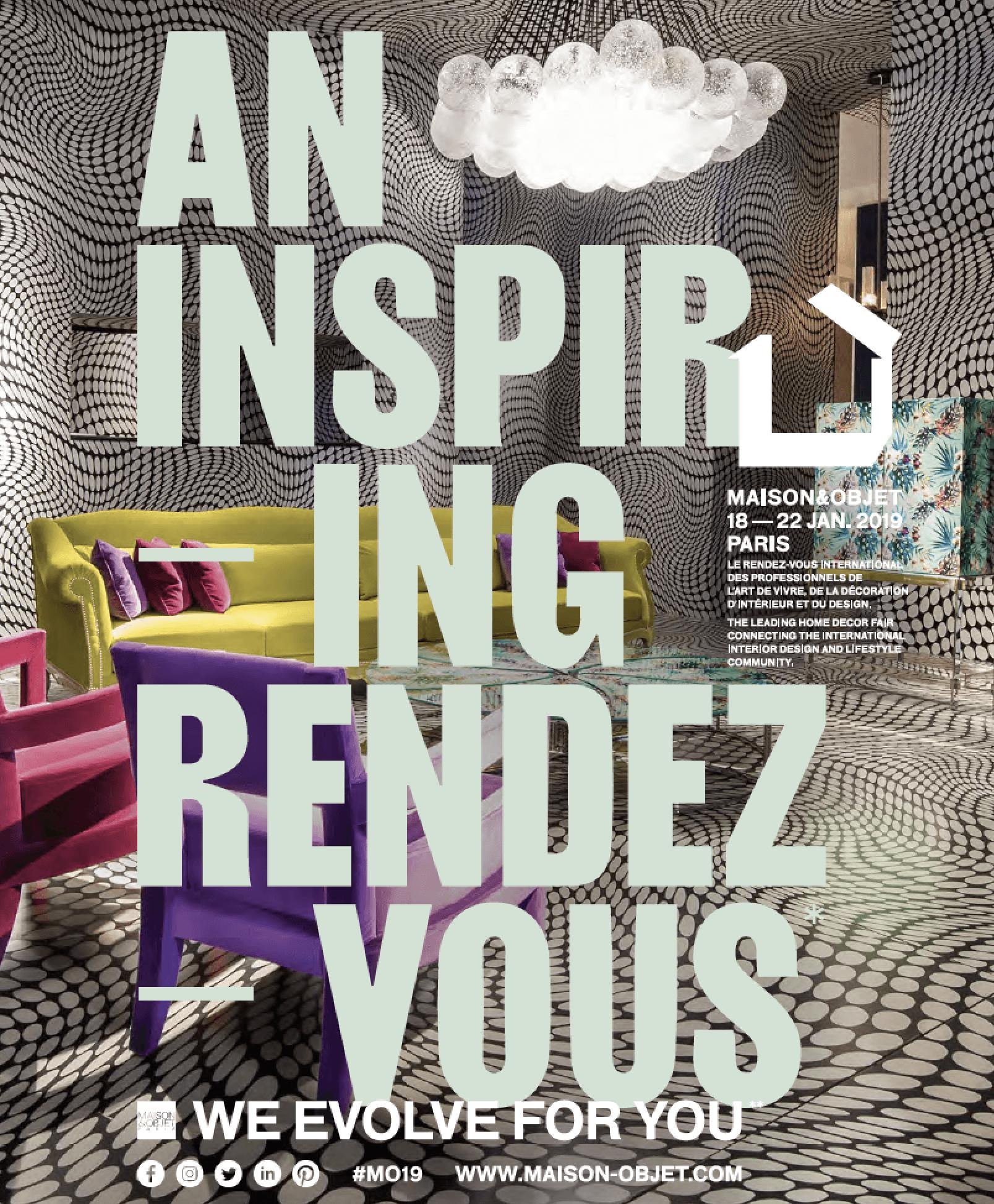 Maison et Objet Paris 18-22 January 2019
