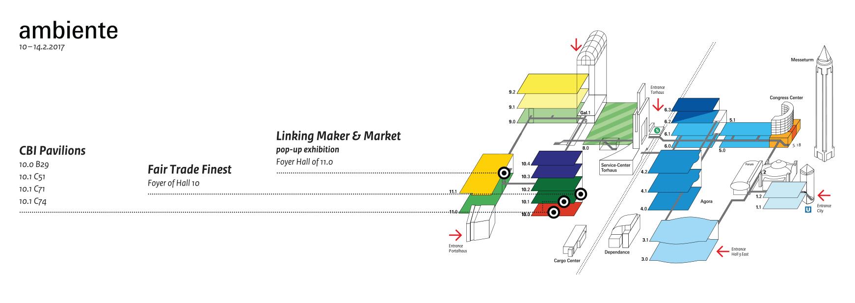 Ambiente 2017 floorplan