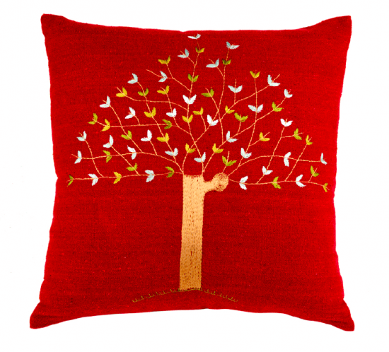 Siwa Creations - Olive Tree cushion