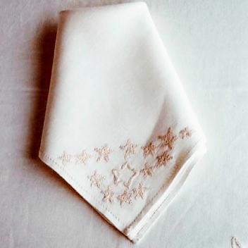 Siwa Creations - Hand embroidered linen tablecloth