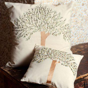 Siwa Creations - Olive Tree cushions