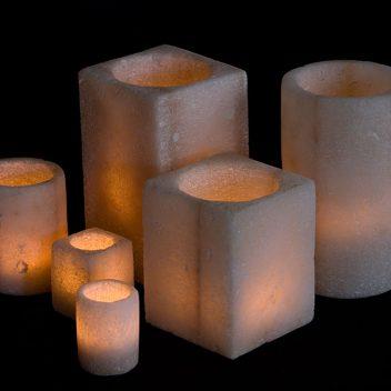 Siwa Creations - Candleholder Salt Square