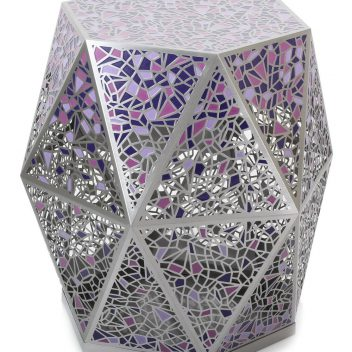 Hexagon Side Table