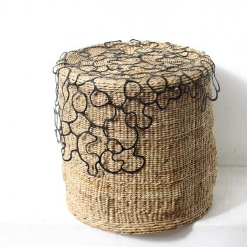 Reginah lace side table