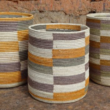 Cylindrical Bwindi Baskets