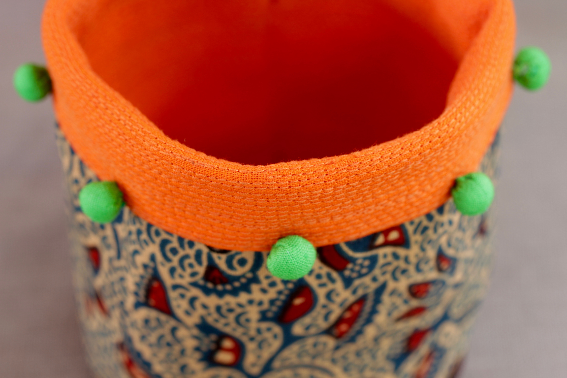 Moyo Kitale fabric basket