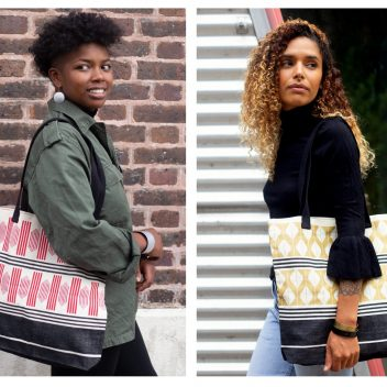 Afrika Tiss - ANOUK Totebag and ALIMA Slingbag