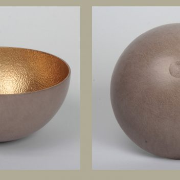 Afrika Tiss - Hammered Flat and Round Bowls