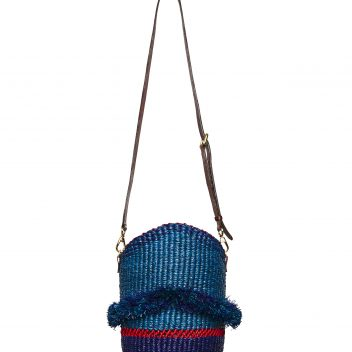 Belle Ruffle Cross Body Bag