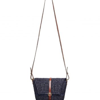 Bika Noir Cross Body Bag