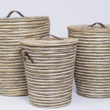 Crafts Villages - Jute Recycled Basket 1
