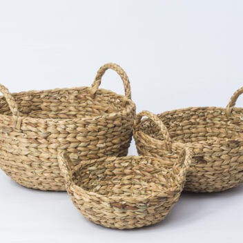 Crafts Villages - Water Hyacinth Basket 2
