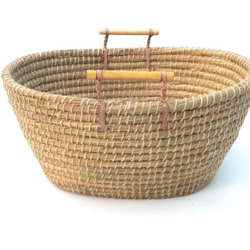 Hajiganj - Basket with Handle