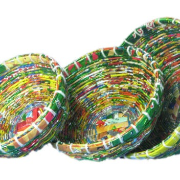 JNDP Crafts - Bowls Recycled Material