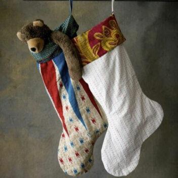 Basha Boutique - Kantha Christmas Stocking