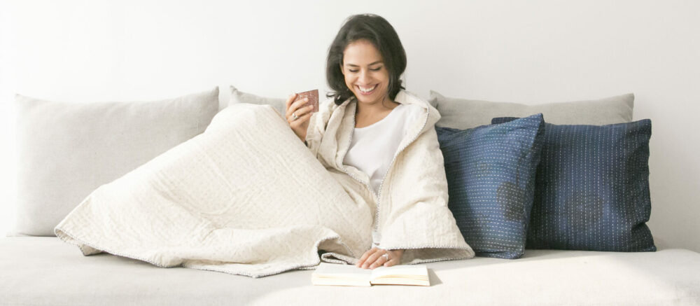 Basha Boutique - cushions and throw