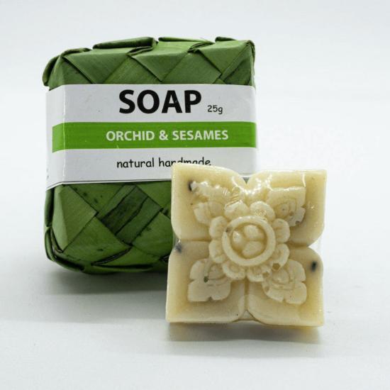 Reakossa Arts - Natural Soap Orchid & Sesame