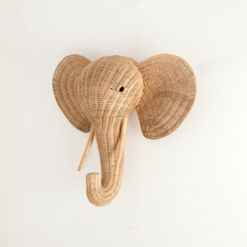 Wisanka - Elephant Head Wall Decoration
