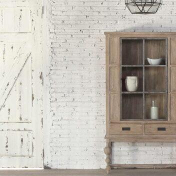 Kayulama - Glass Cabinet