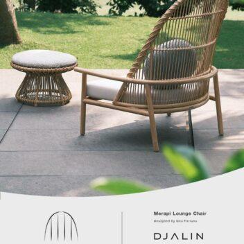 Djalin - NEWINDO 2021 - Merapi Lounge Chair