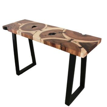 Sentana Art Wood - Ribbon Console