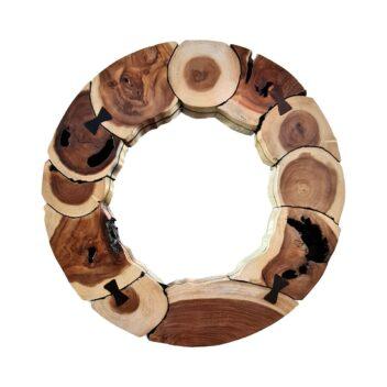 Sentana Art Wood - Ribbon Mirror 1