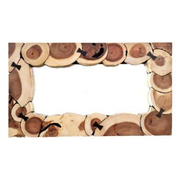 Sentana Art Wood - Ribbon Mirror 2