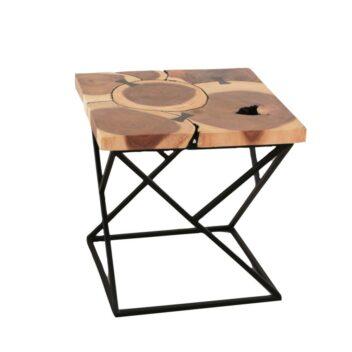 Sentana Art Wood - Ribbon Side Table